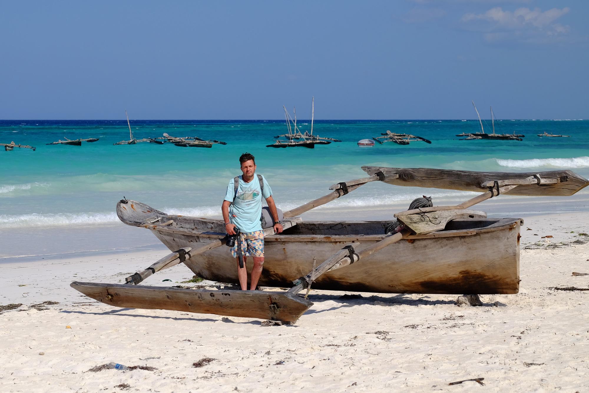 Los dhow la barca tipica de Zanzibar
