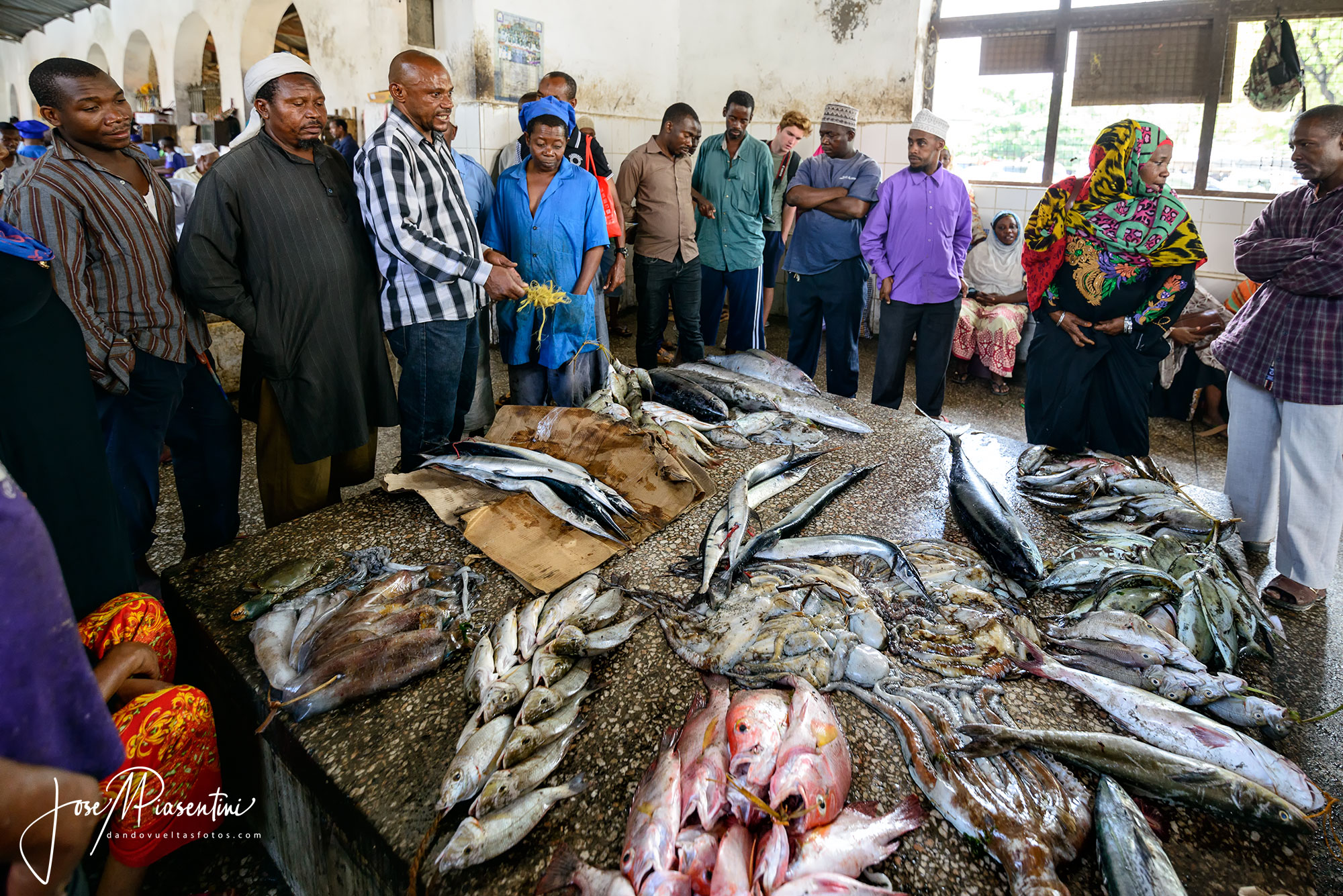 Darajani Market en Stone Town Zanzibar
