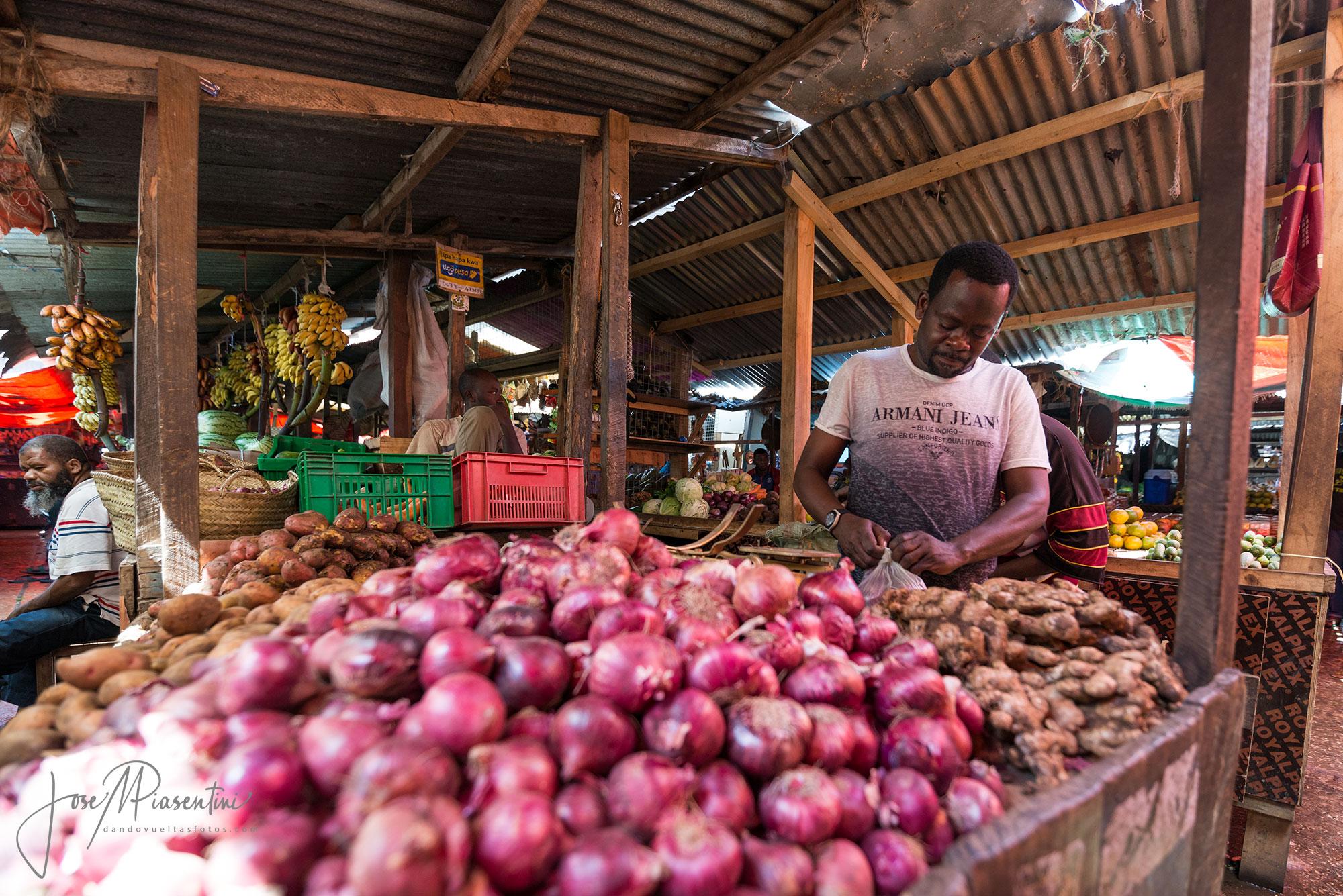 Africa mercados tradicionales