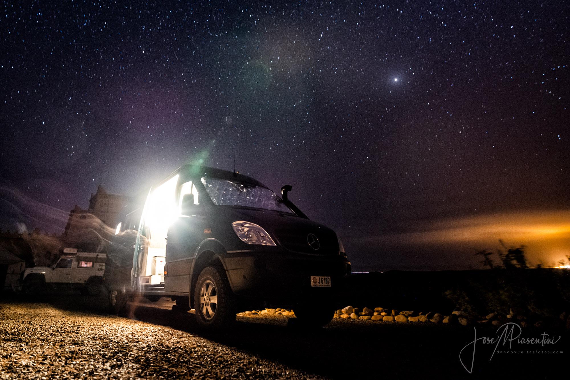 Marruecos en Mercedes Sprinter 4x4 camper