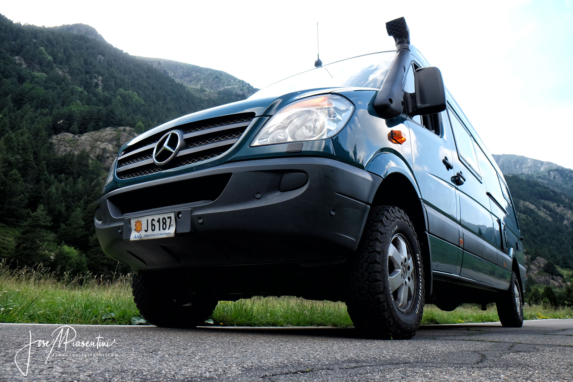 AWD Mercedes Sprinter