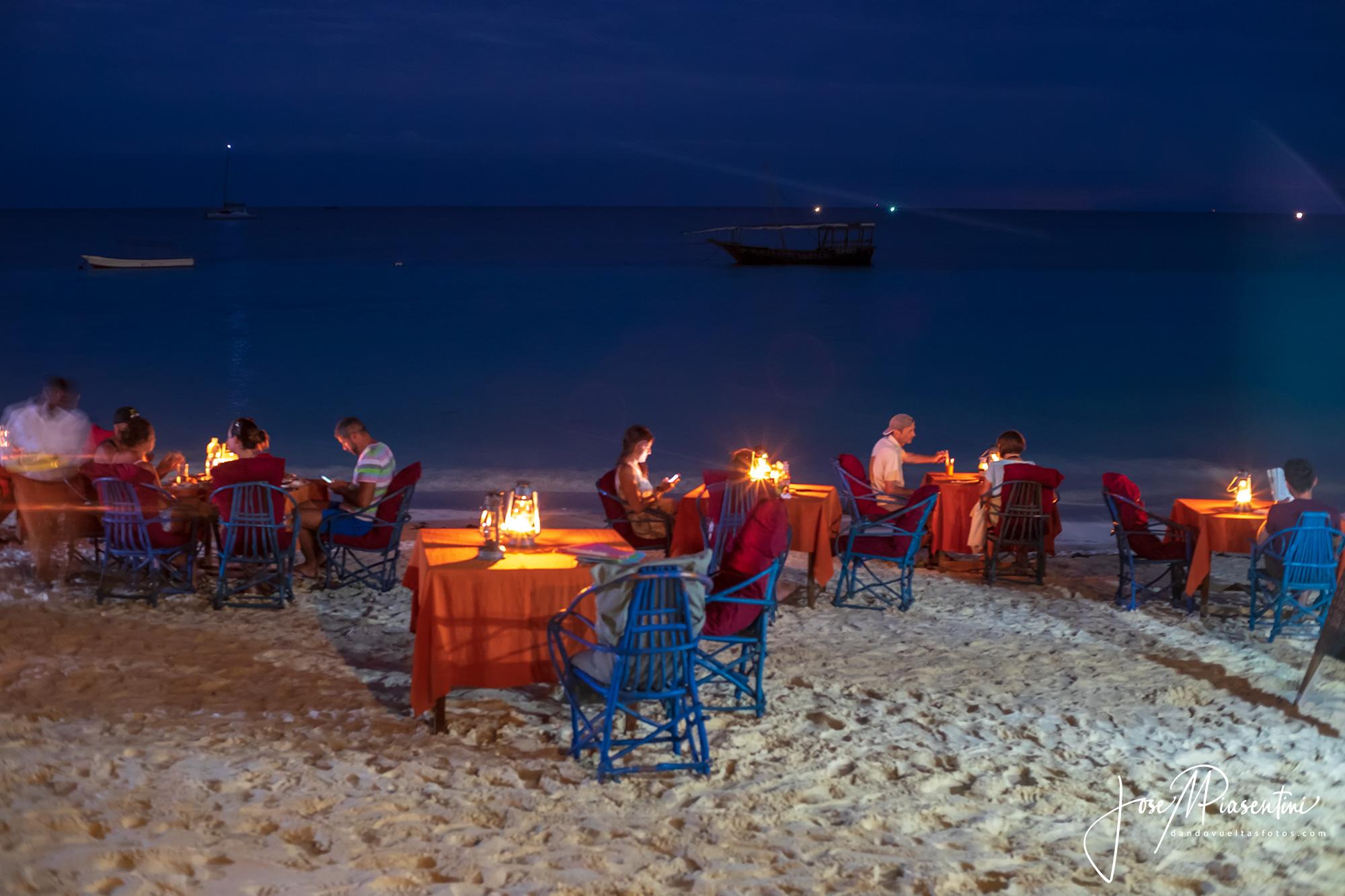 Nungwi Beach dinner