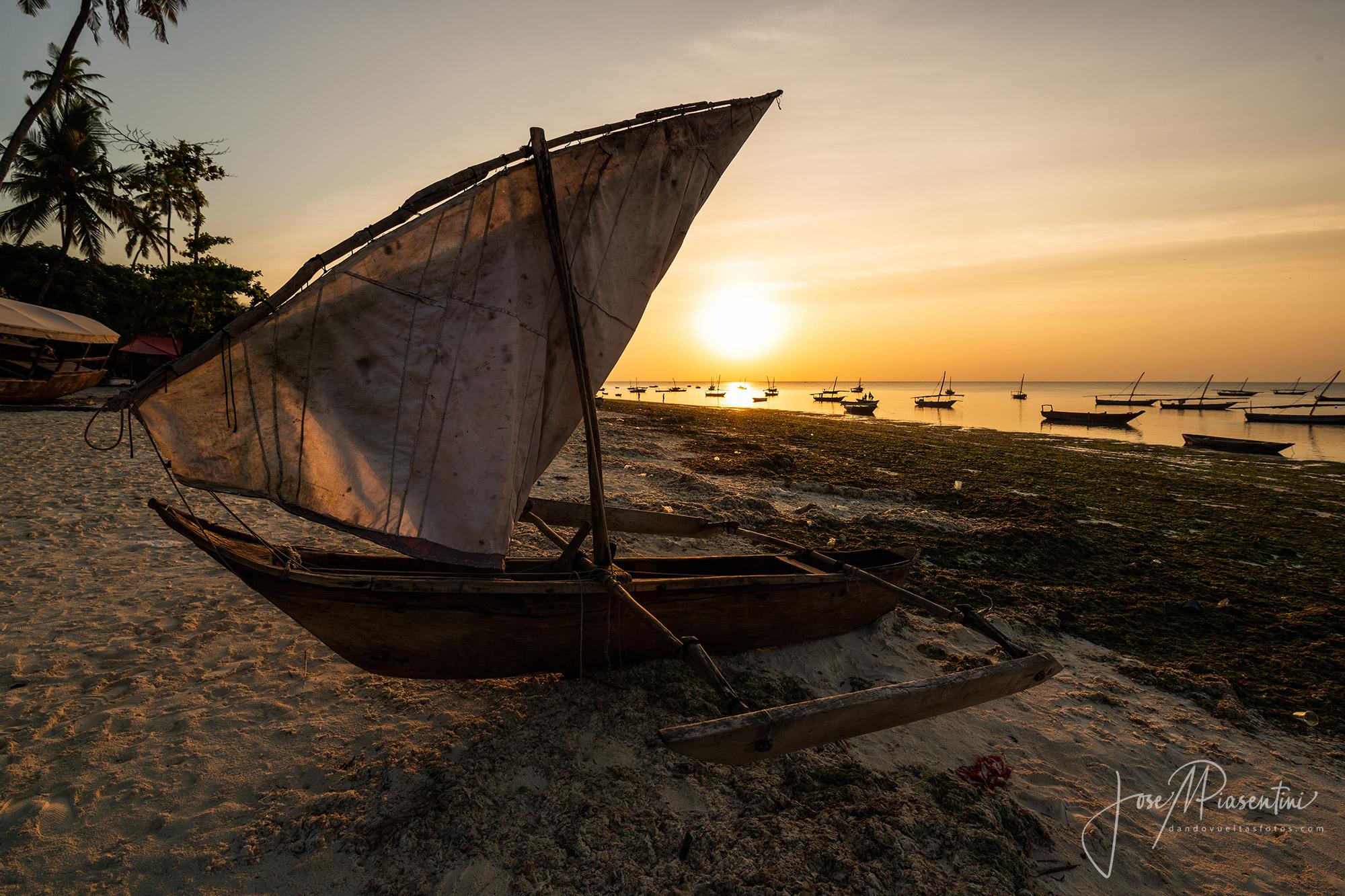 Zanzibar sunset