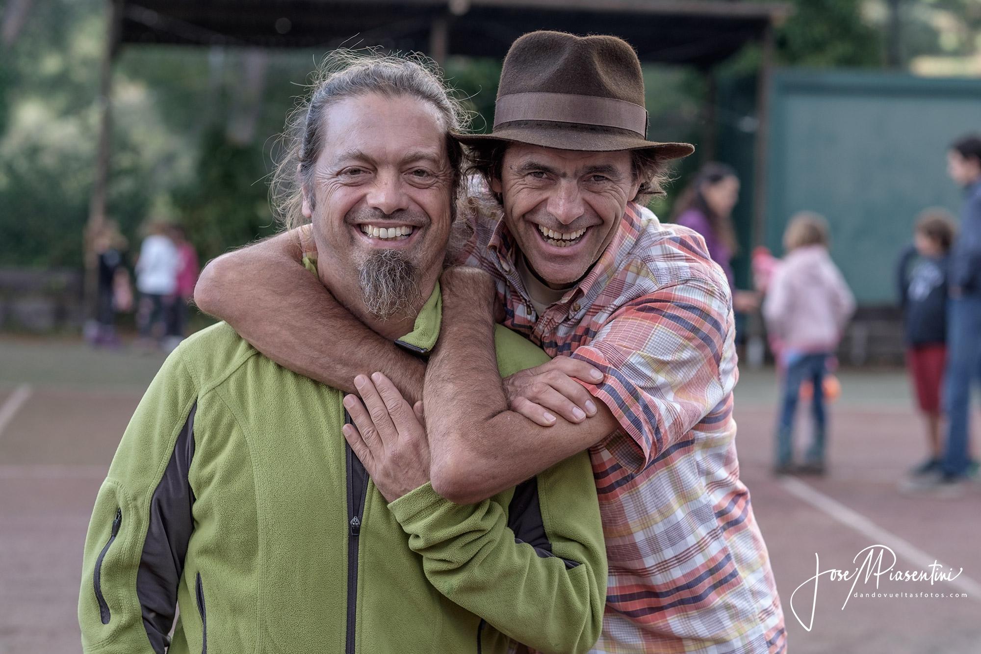 Herman Zapp y Pablo Rey