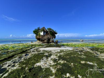 Pingwe Beach and the Rock Restaurant Zanzibar