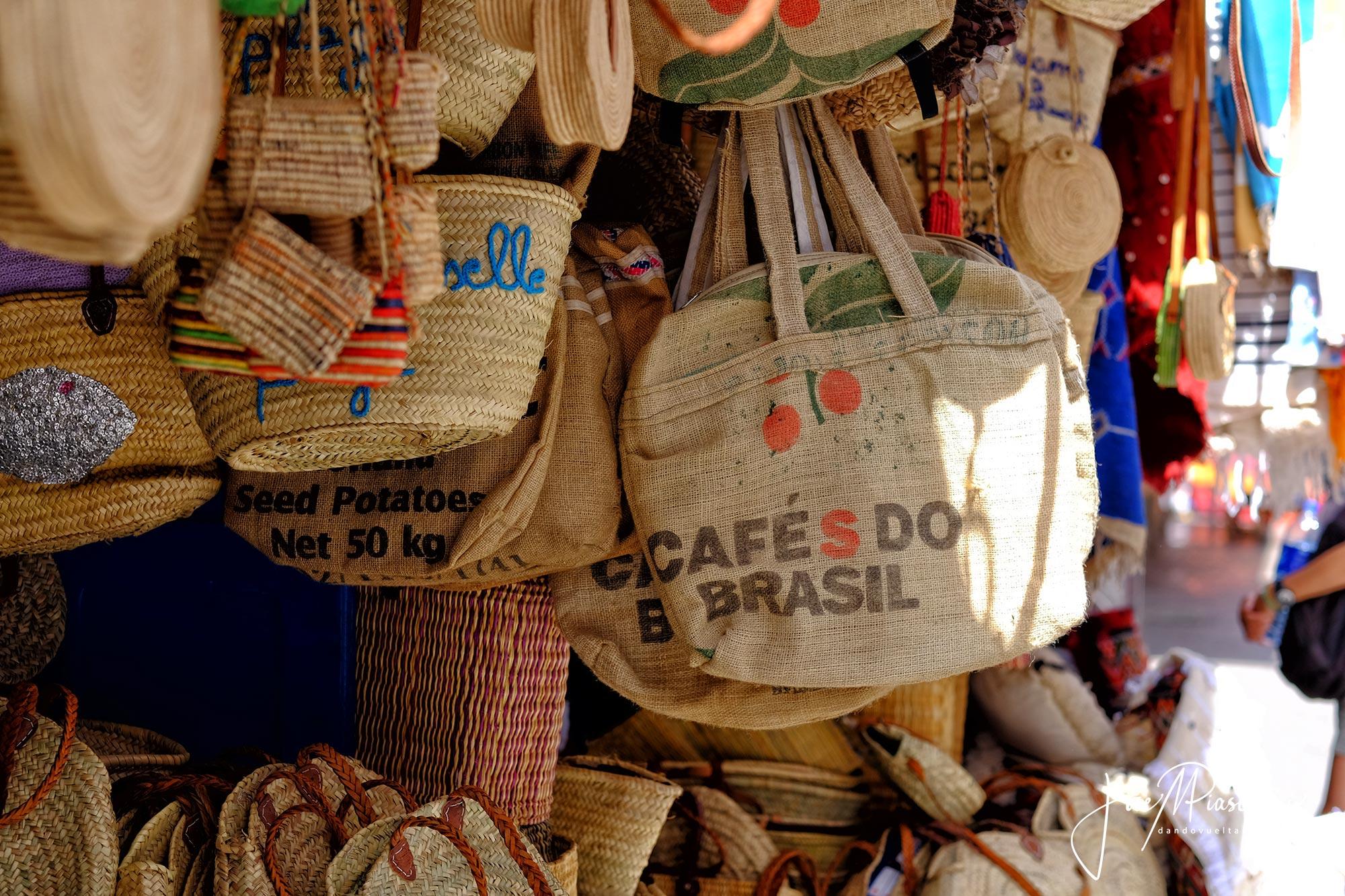 Bolsos reciclados Marruecos