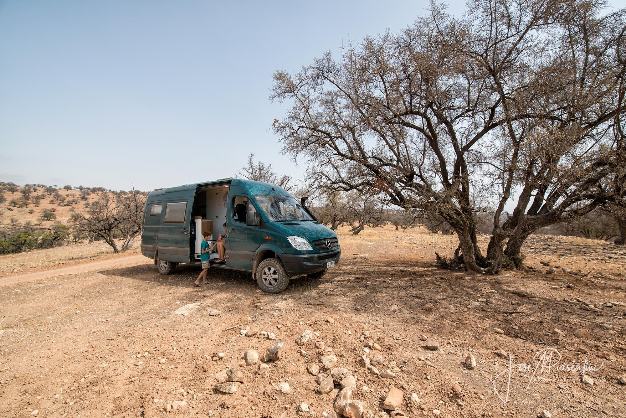 Sprinter 4x4 camper Marruecos