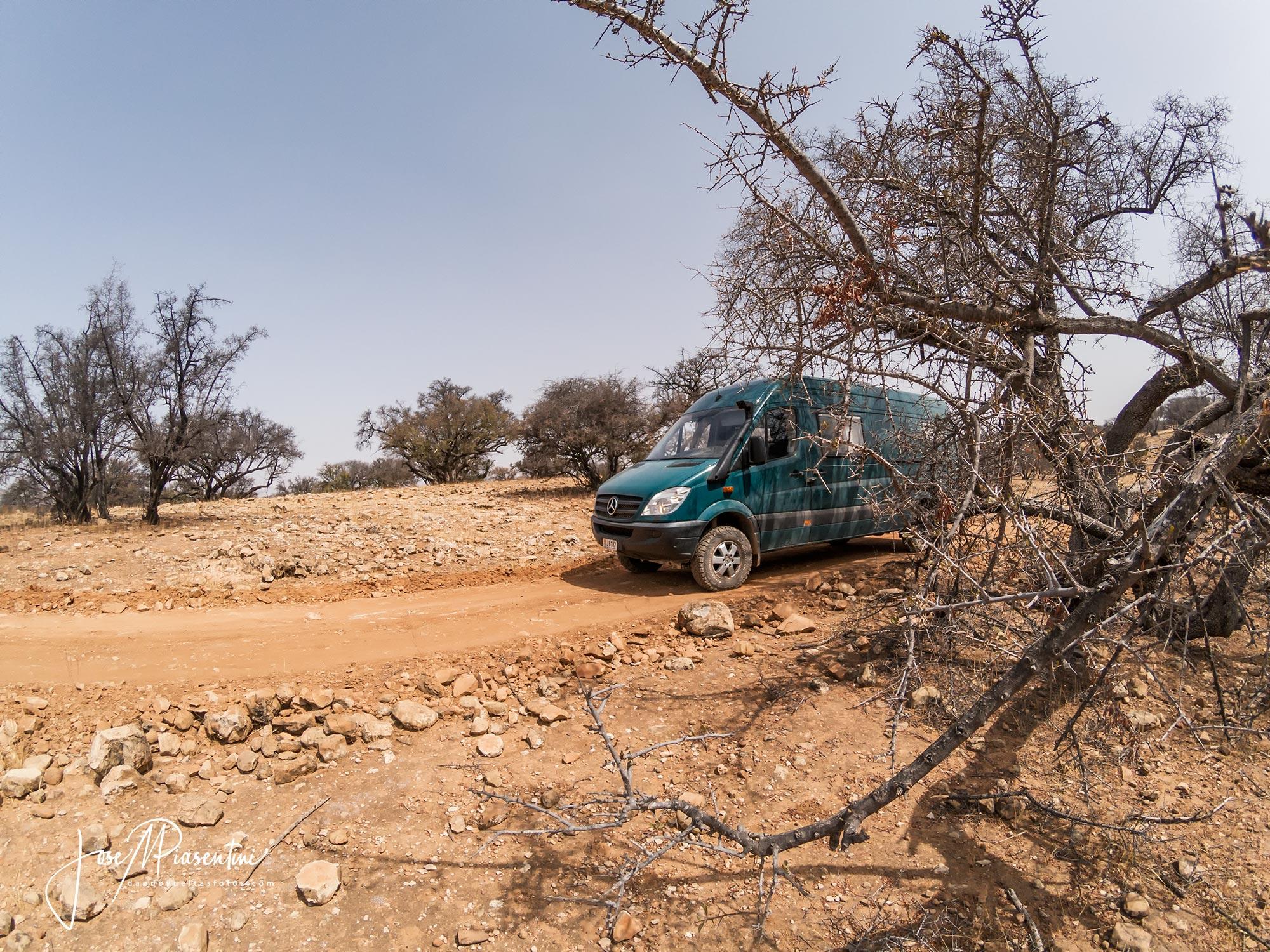 Imouzzer a Essaouira off-road