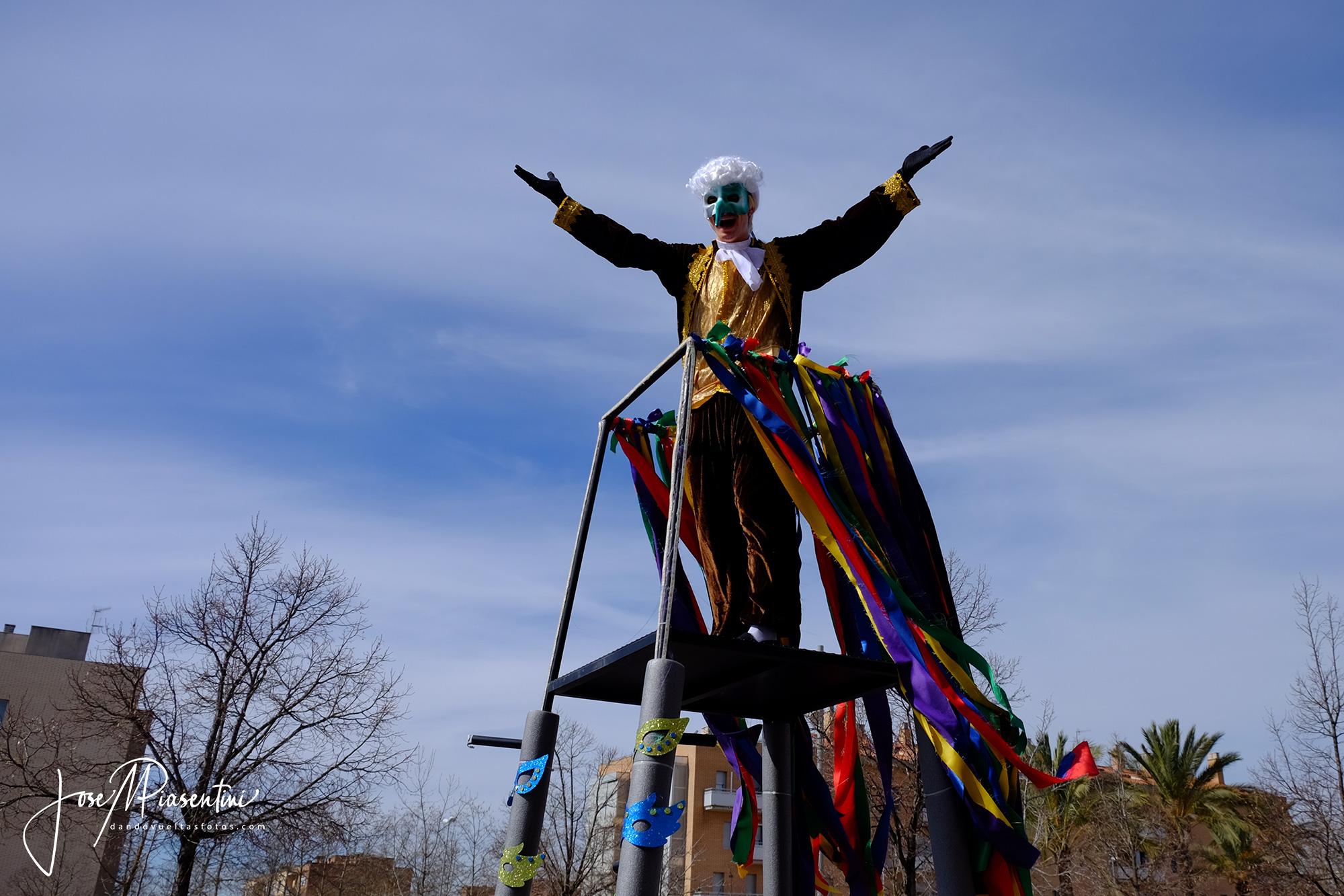 Carrozas carnaval Els Monjos Penedes