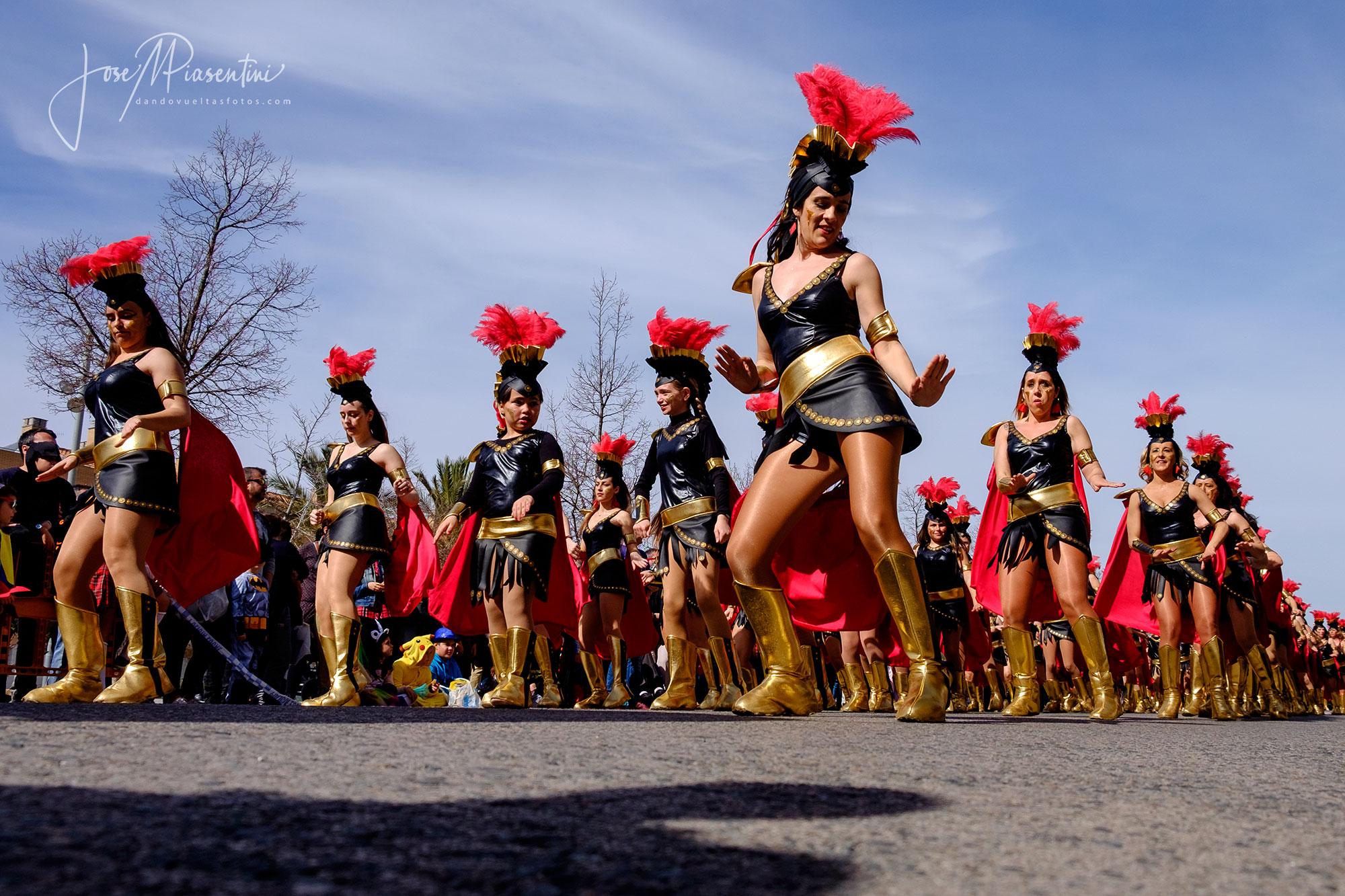 Carrozas carnaval cataluña Els Monjos