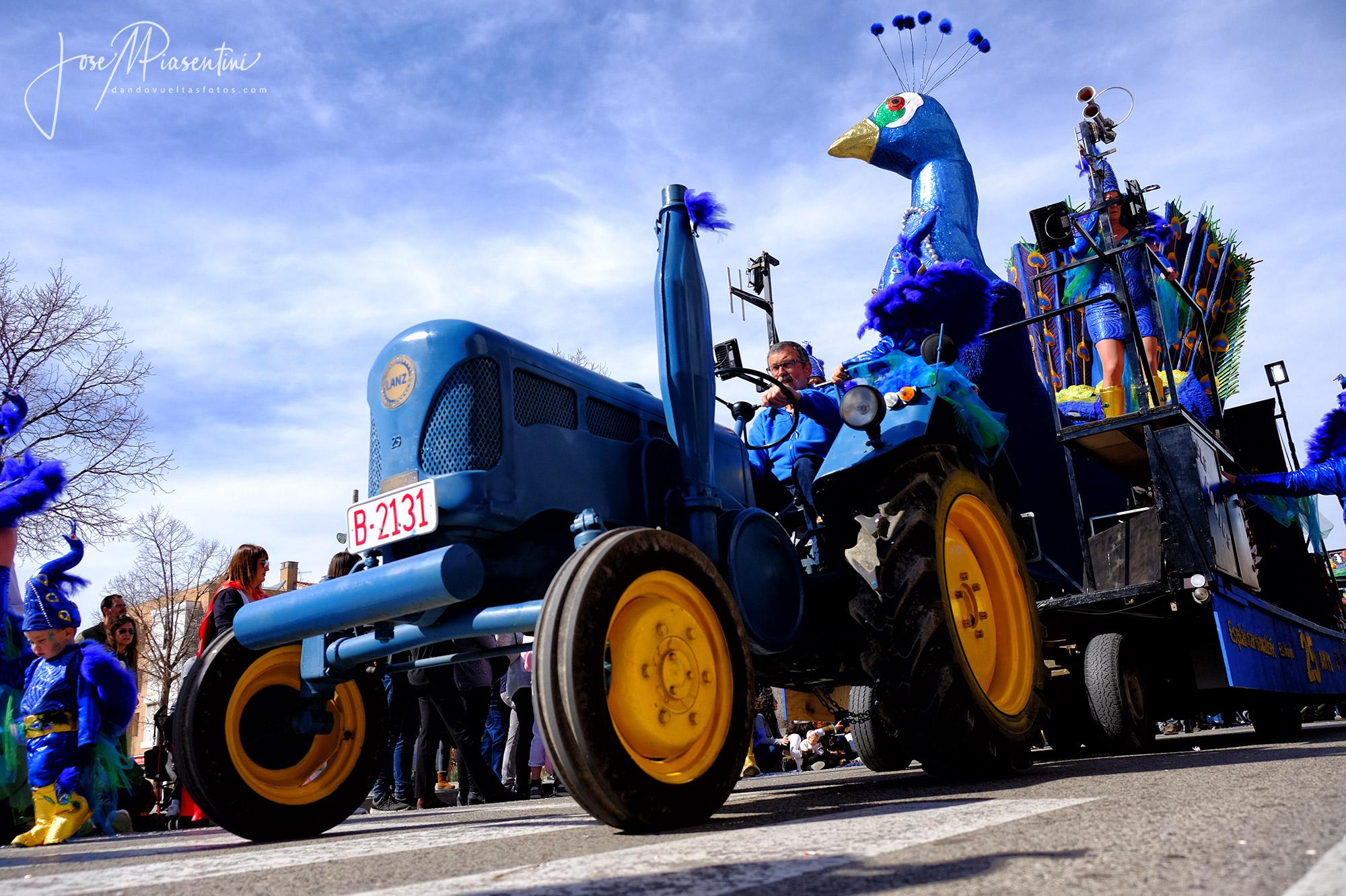 Carrozas carnaval Els Monjos