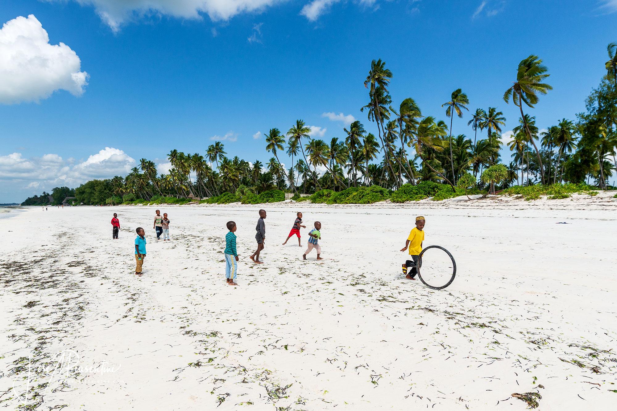 Matemwe Beach, larga y paradisíaca playa en Zanzíbar