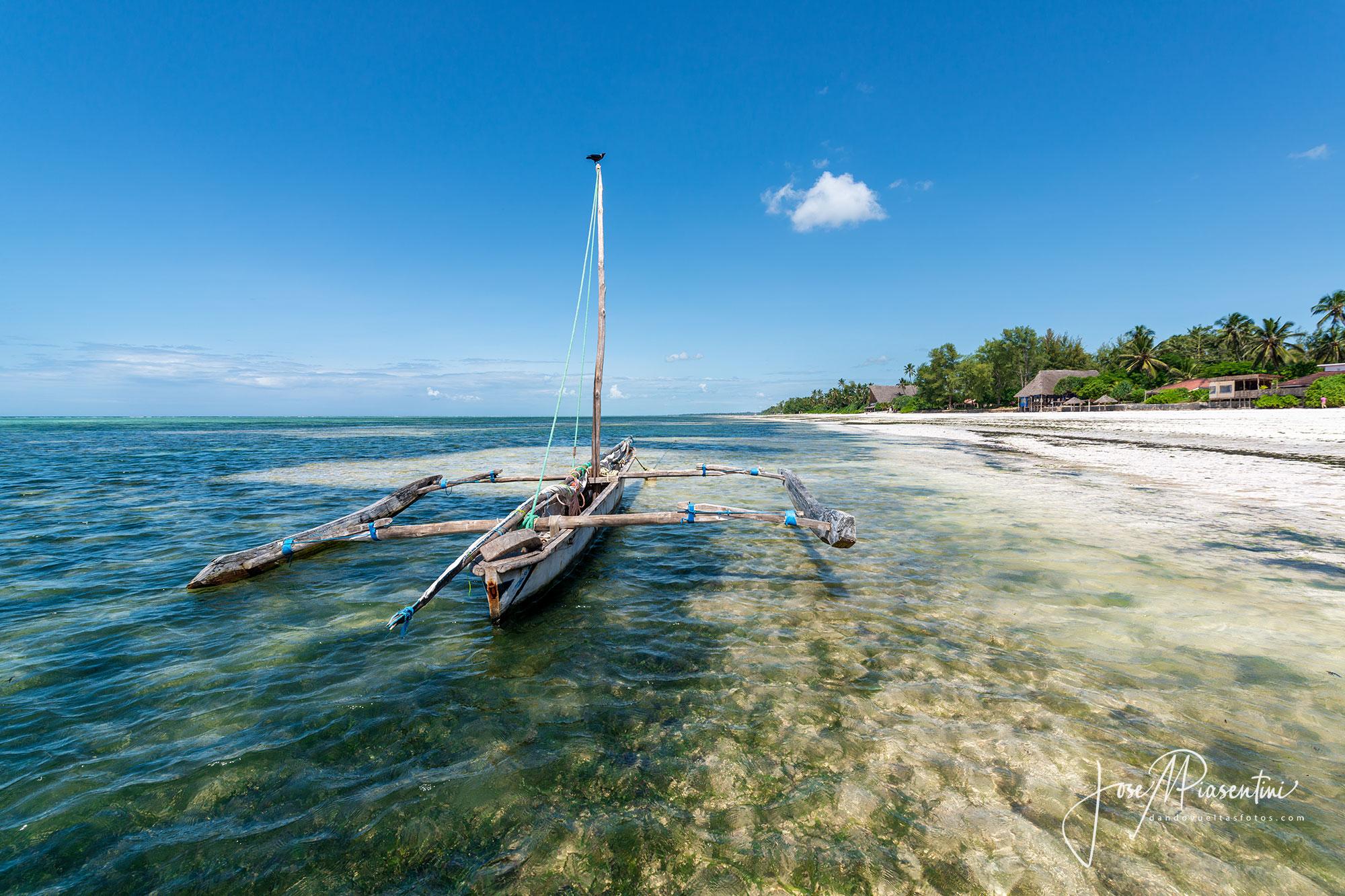 Matemwe Beach, larga y paradisíaca playa Zanzíbar