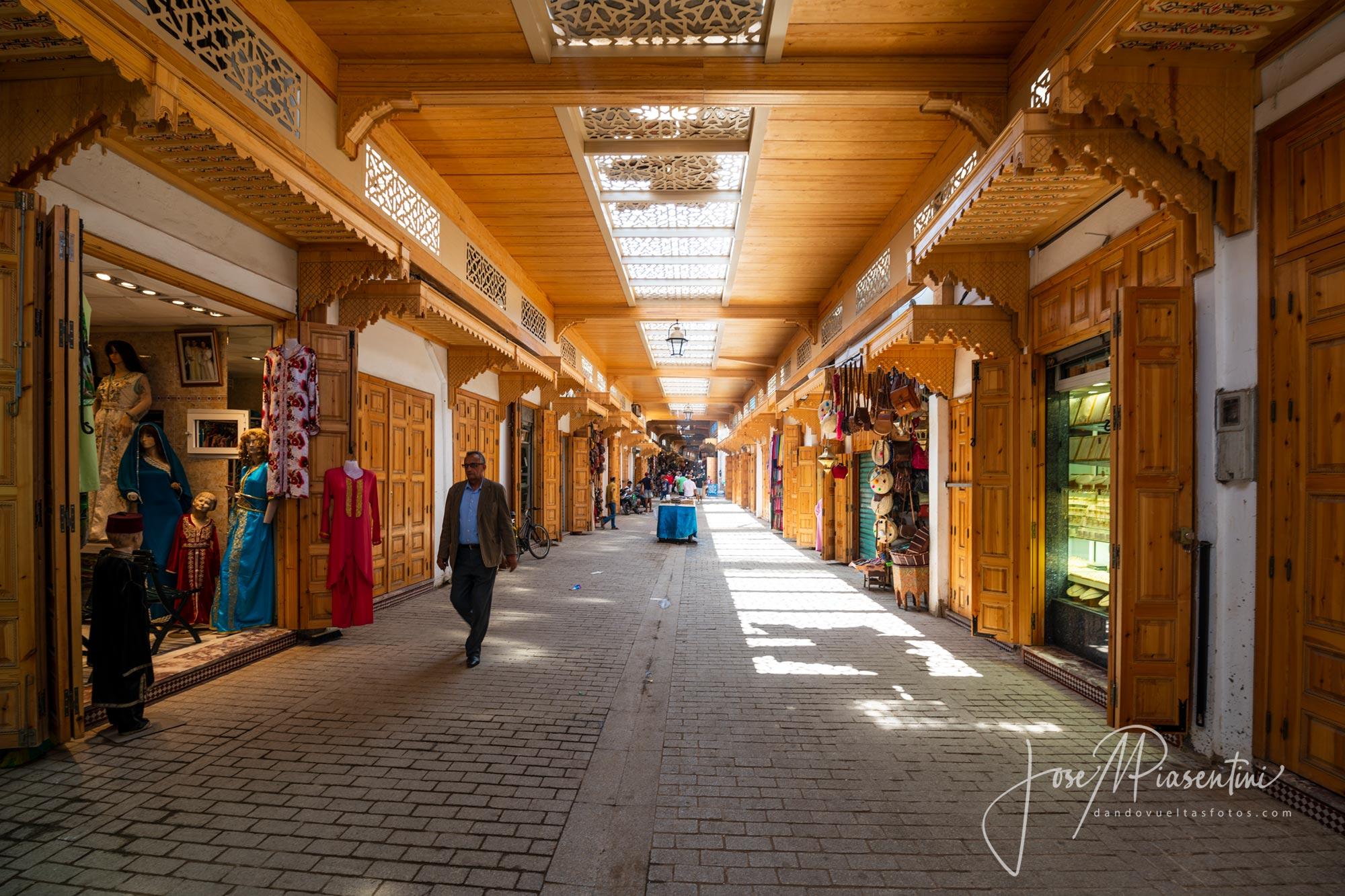 Callejuelas de la medina Rabat