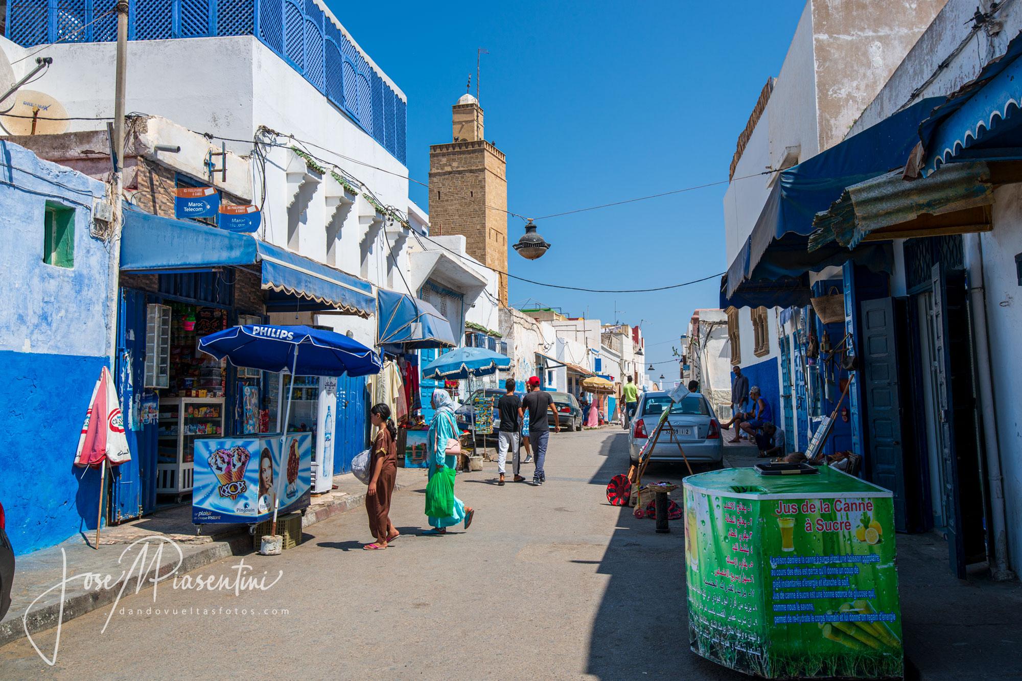 Kasbah de los Udayas callejuelas