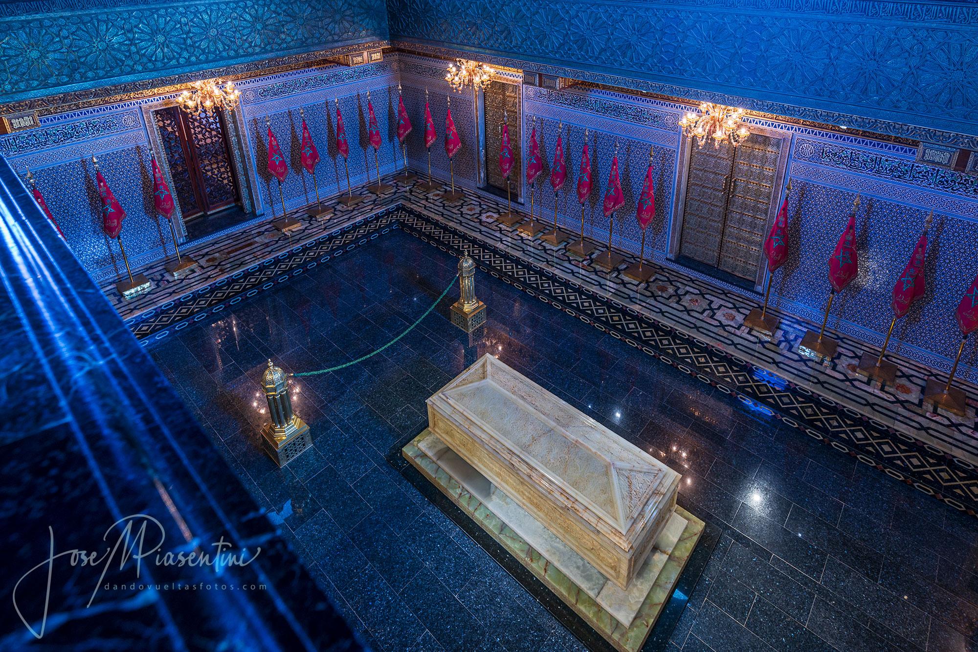 Mausoleo de Mohamed V en Rabat