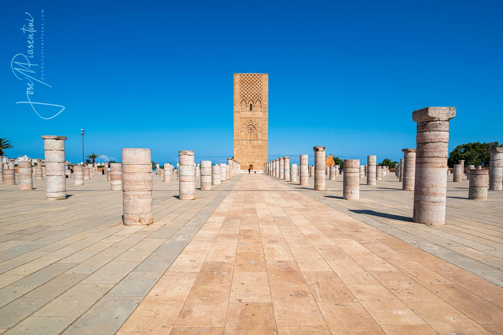 Torre Hassan Rabat Marruecos
