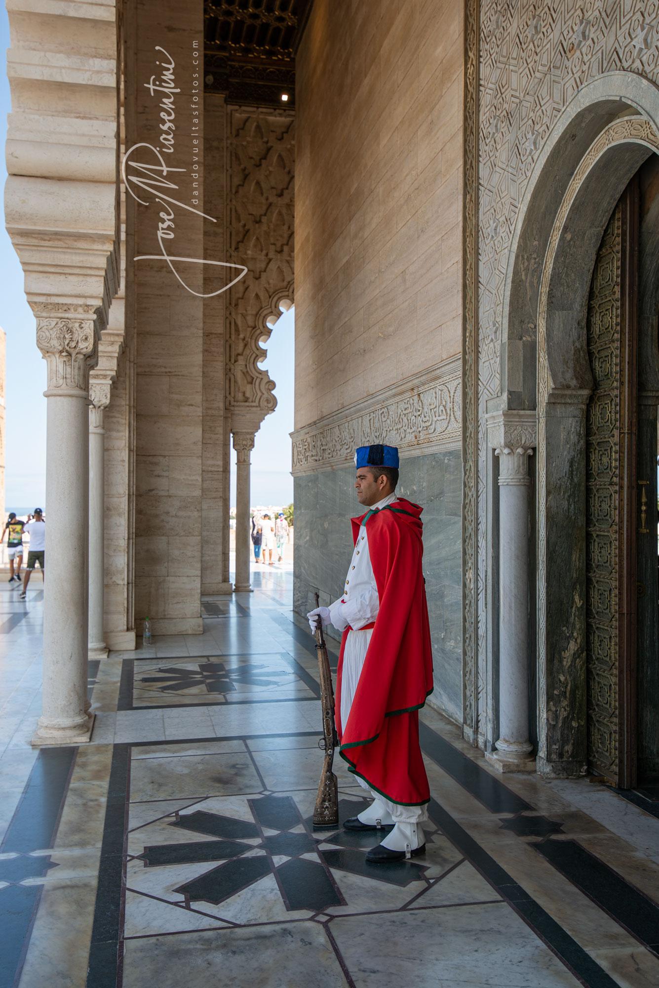 Mausoleo de Mohamed V Rabat Morocco