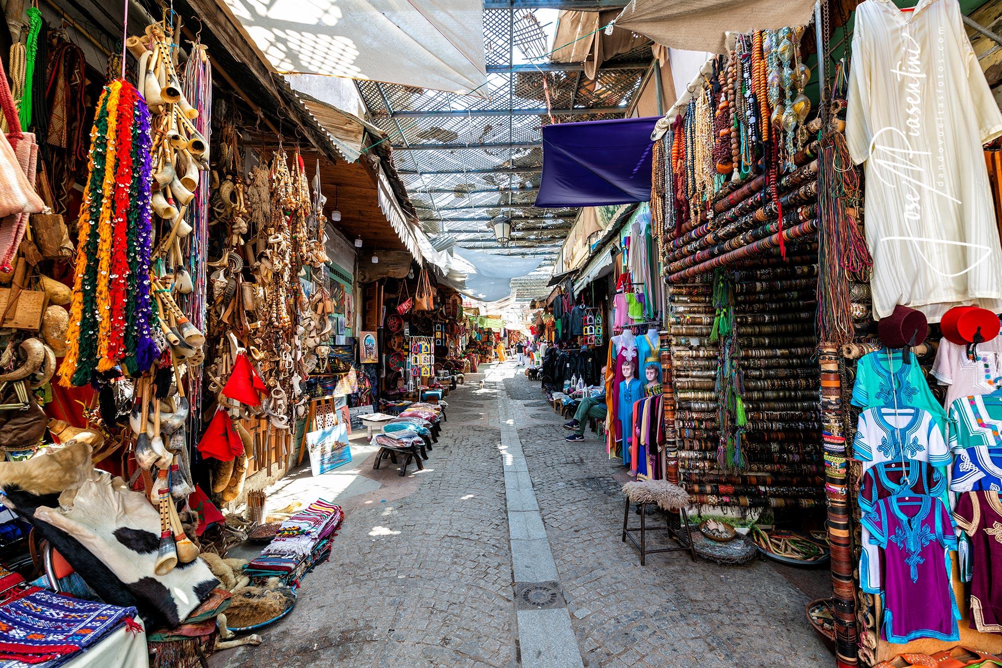 Rabat medina street
