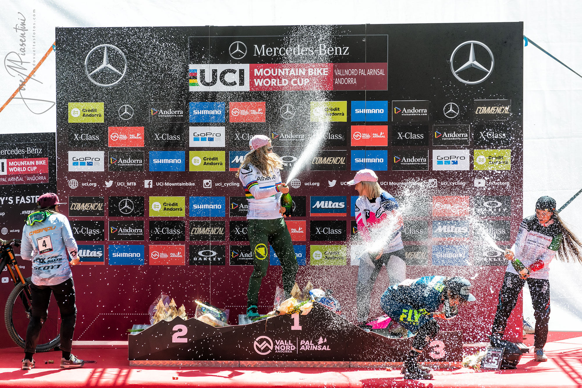 Rachel Atherton winner UCI MTB World cup
