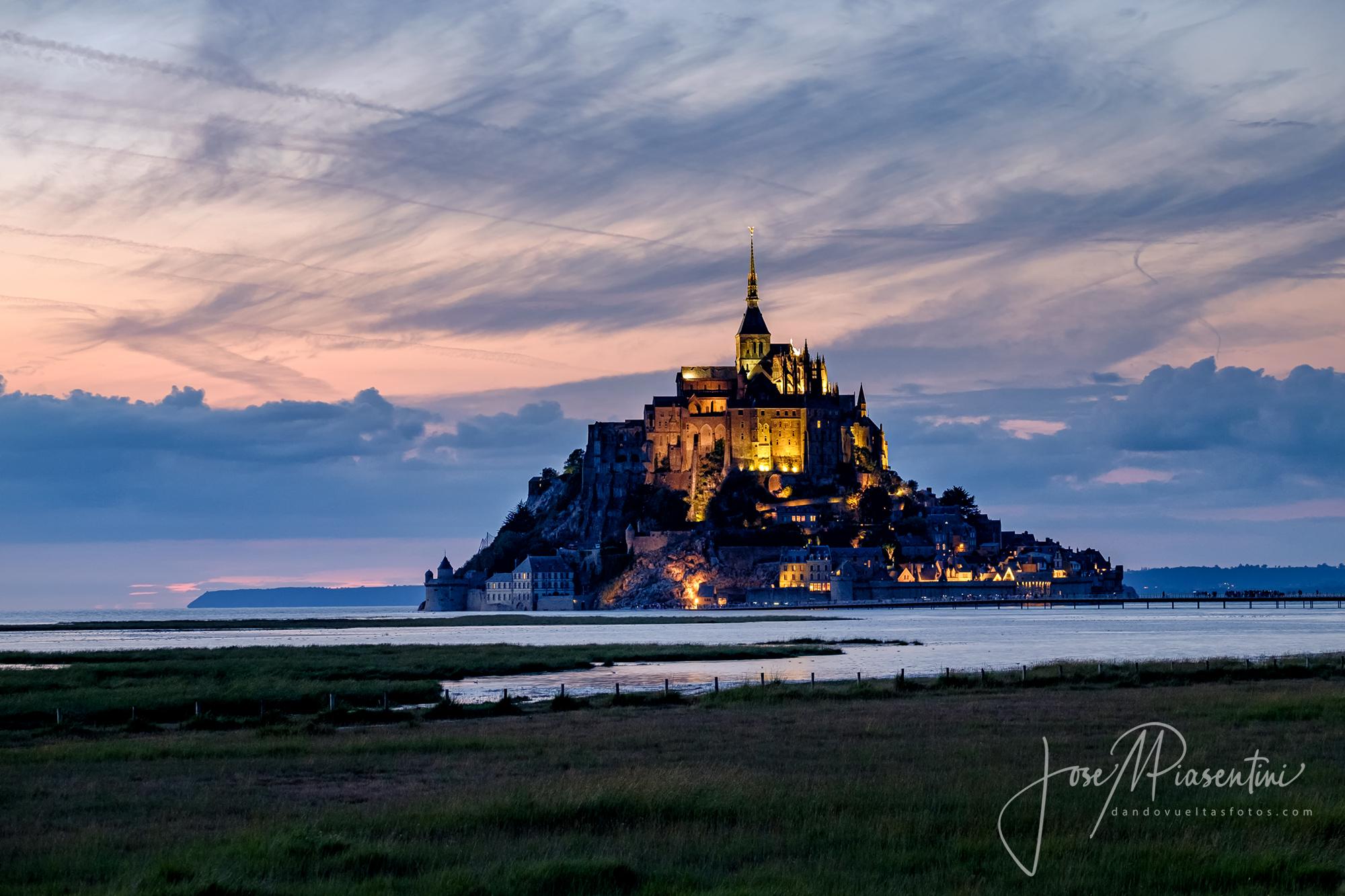Mont Saint Michel en furgoneta