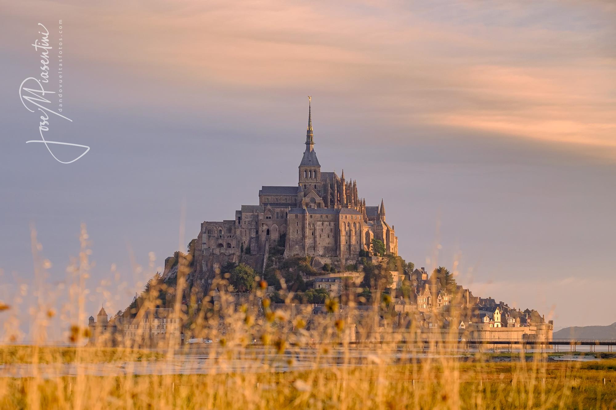 Mareas en Saint Michel Francia