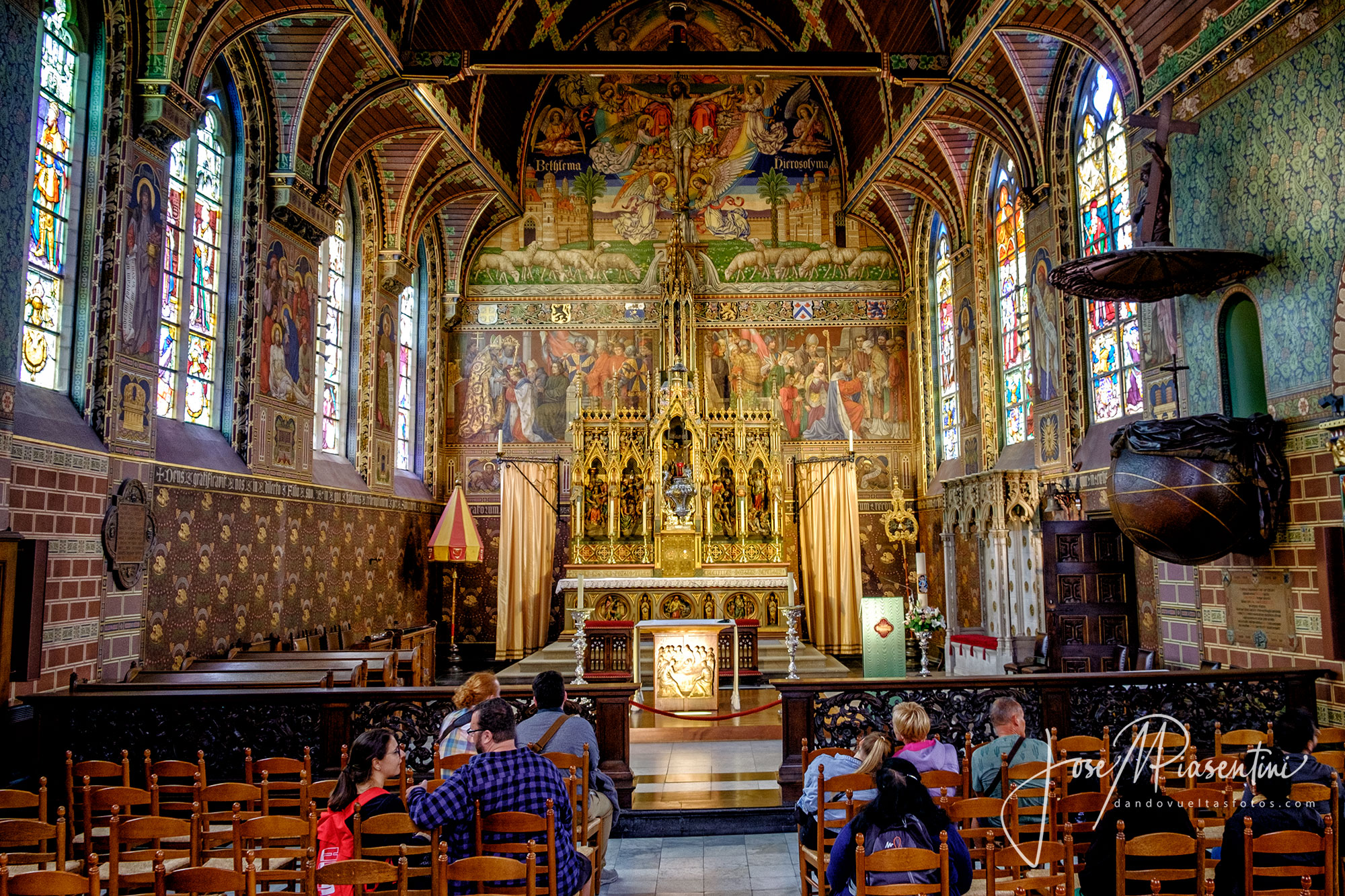 La basílica Heilig-Bloedbasiliek