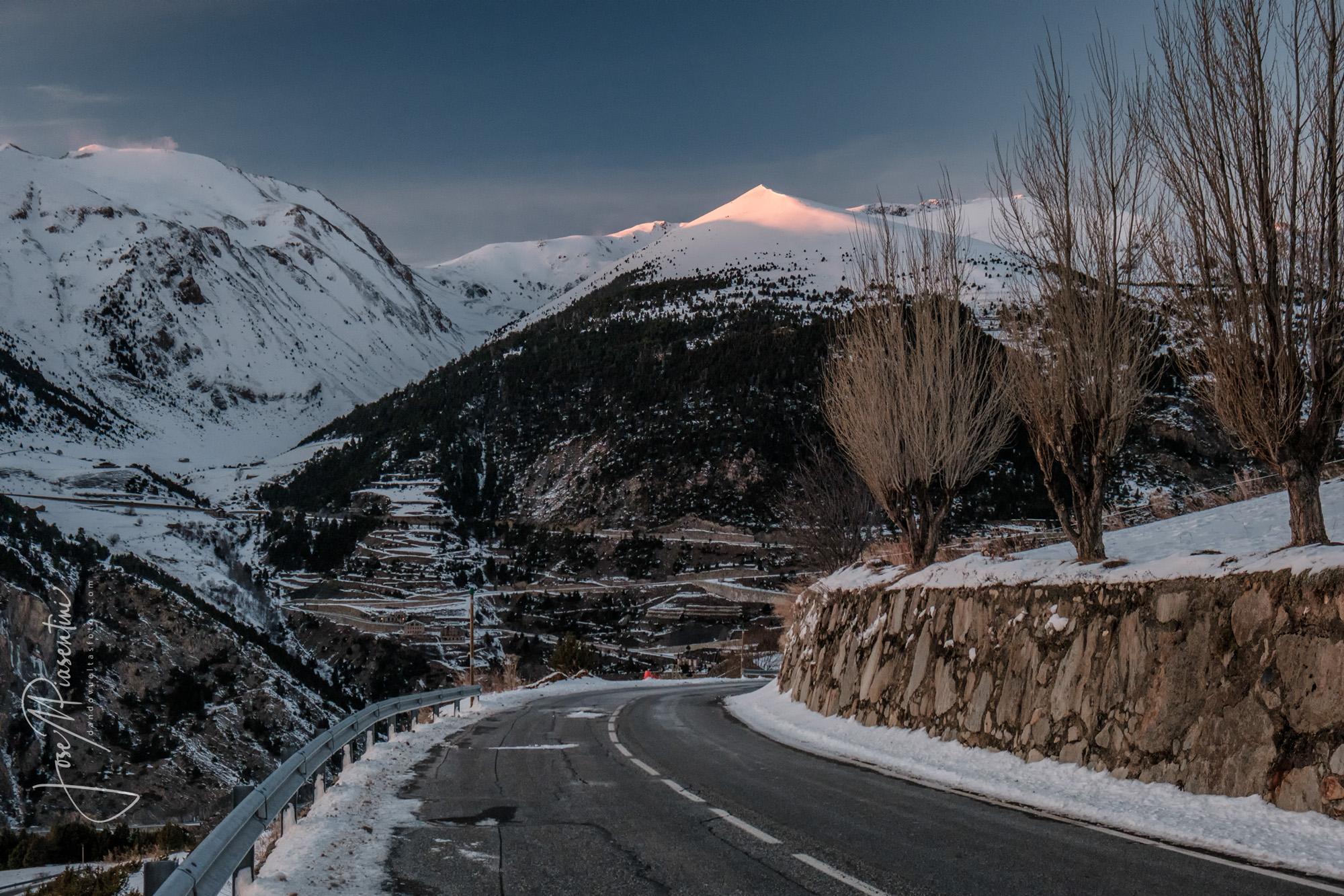 Andorra atardeceres entre montañas