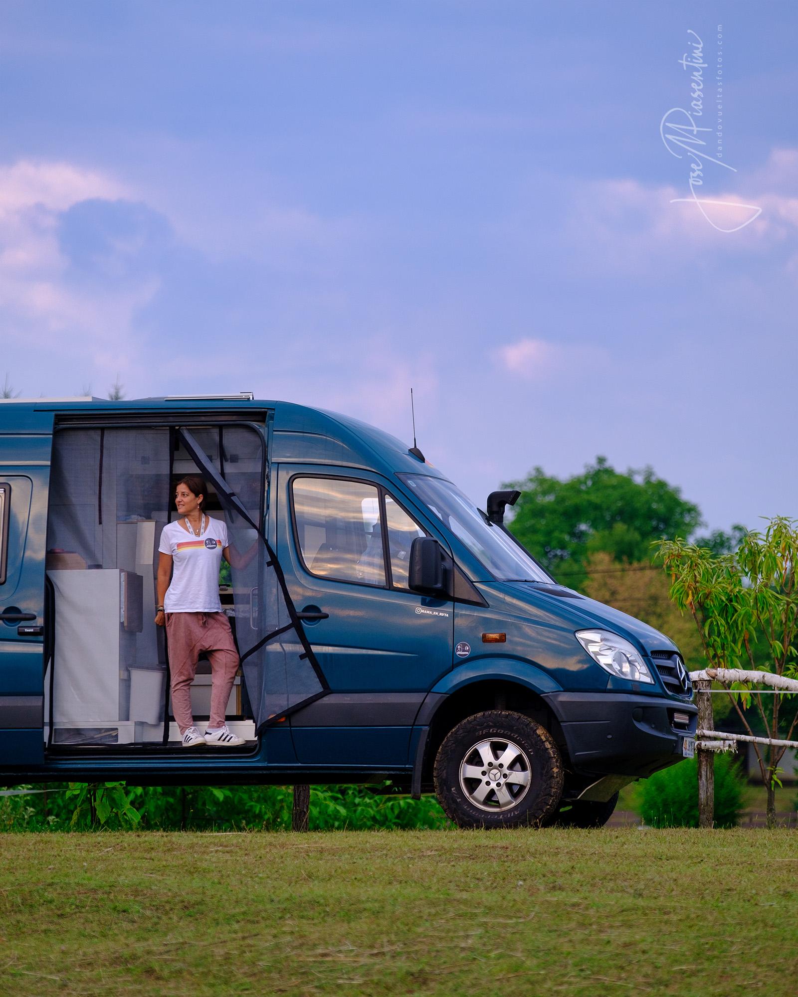 Ruta de la Seda en familia en furgoneta