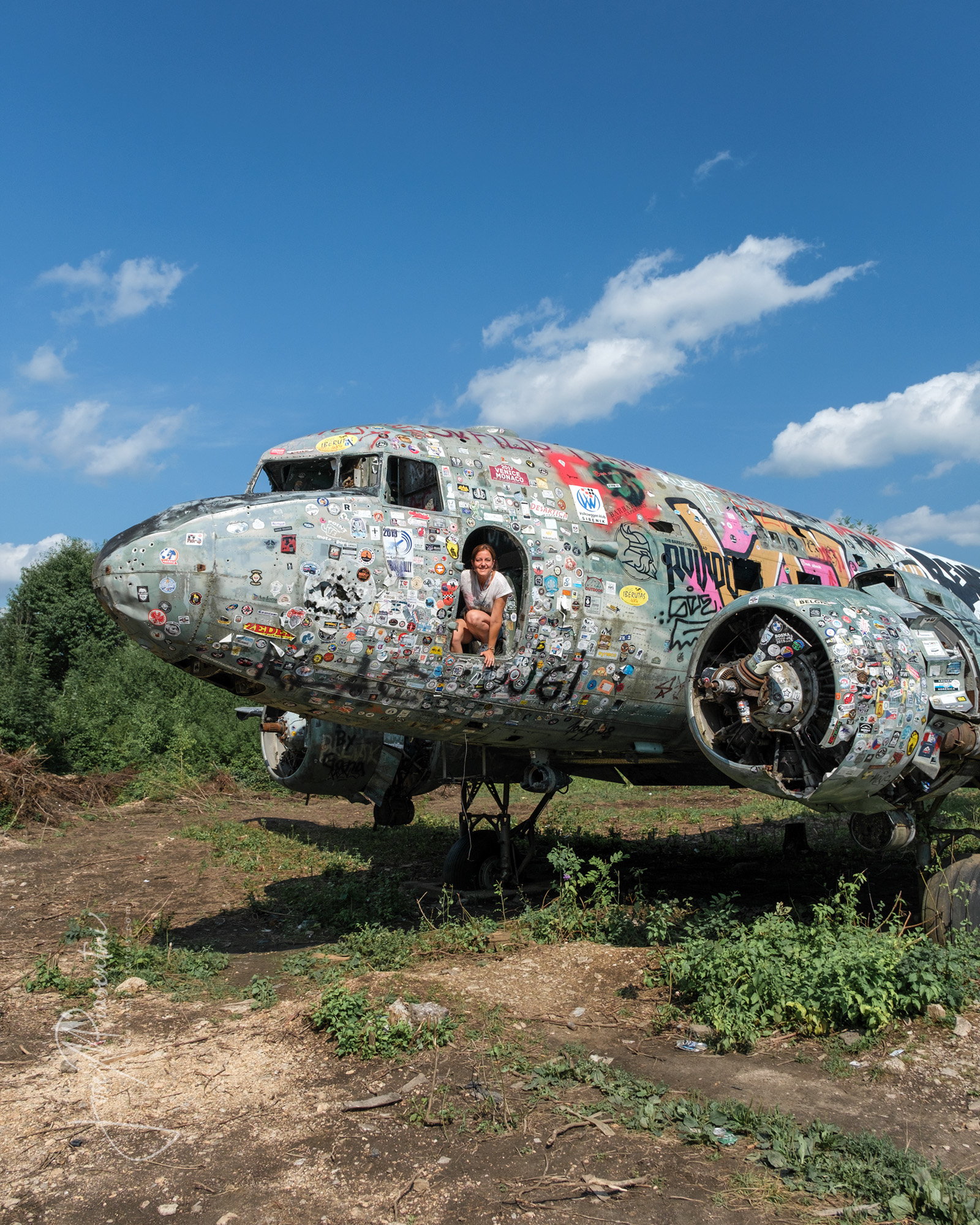 Militar base Zeljava in Croatia abandoned