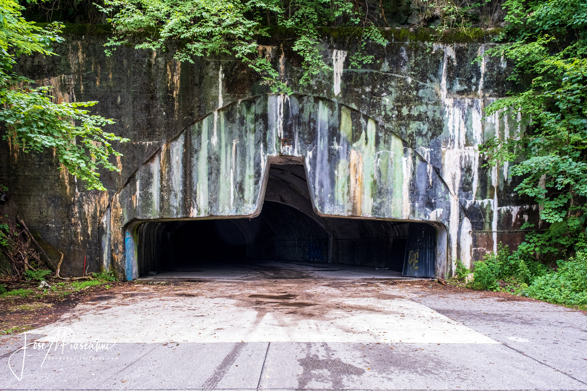 bunker abandoned in Zeljava