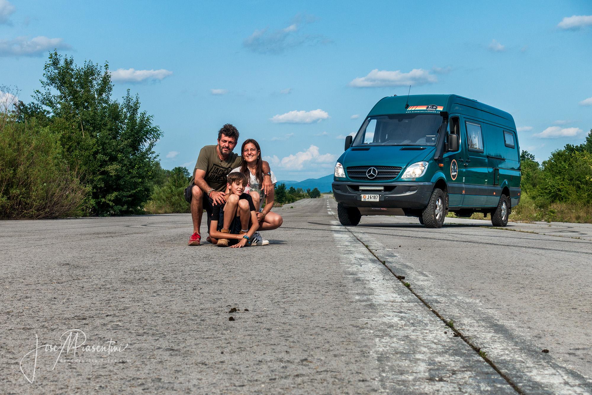 Militar base Zeljava in Croatia