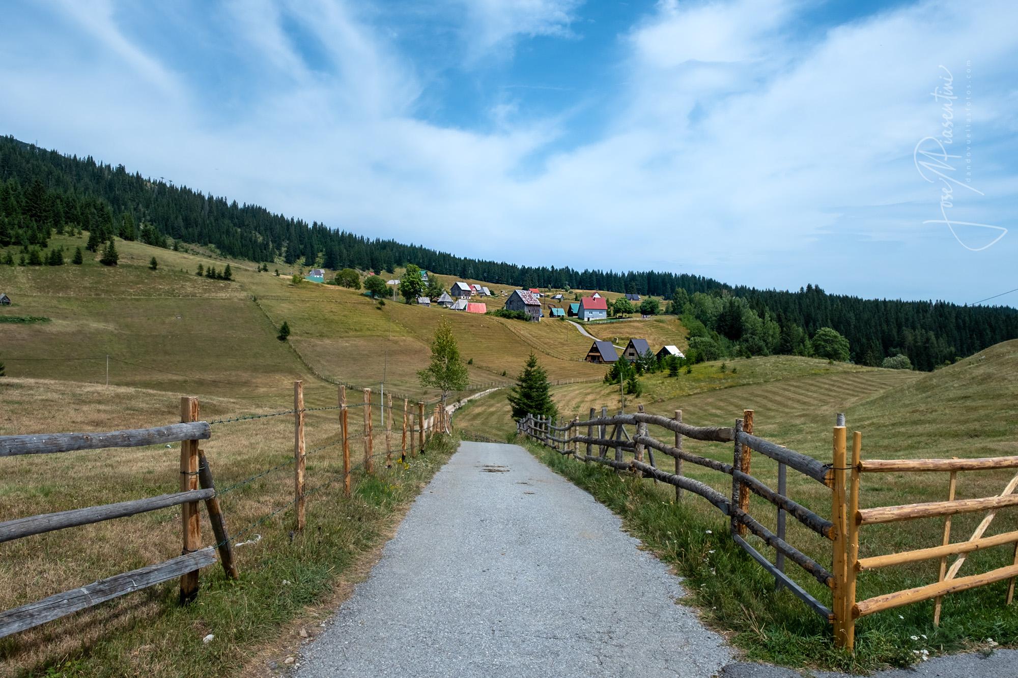 Bosača village Durmitor NP