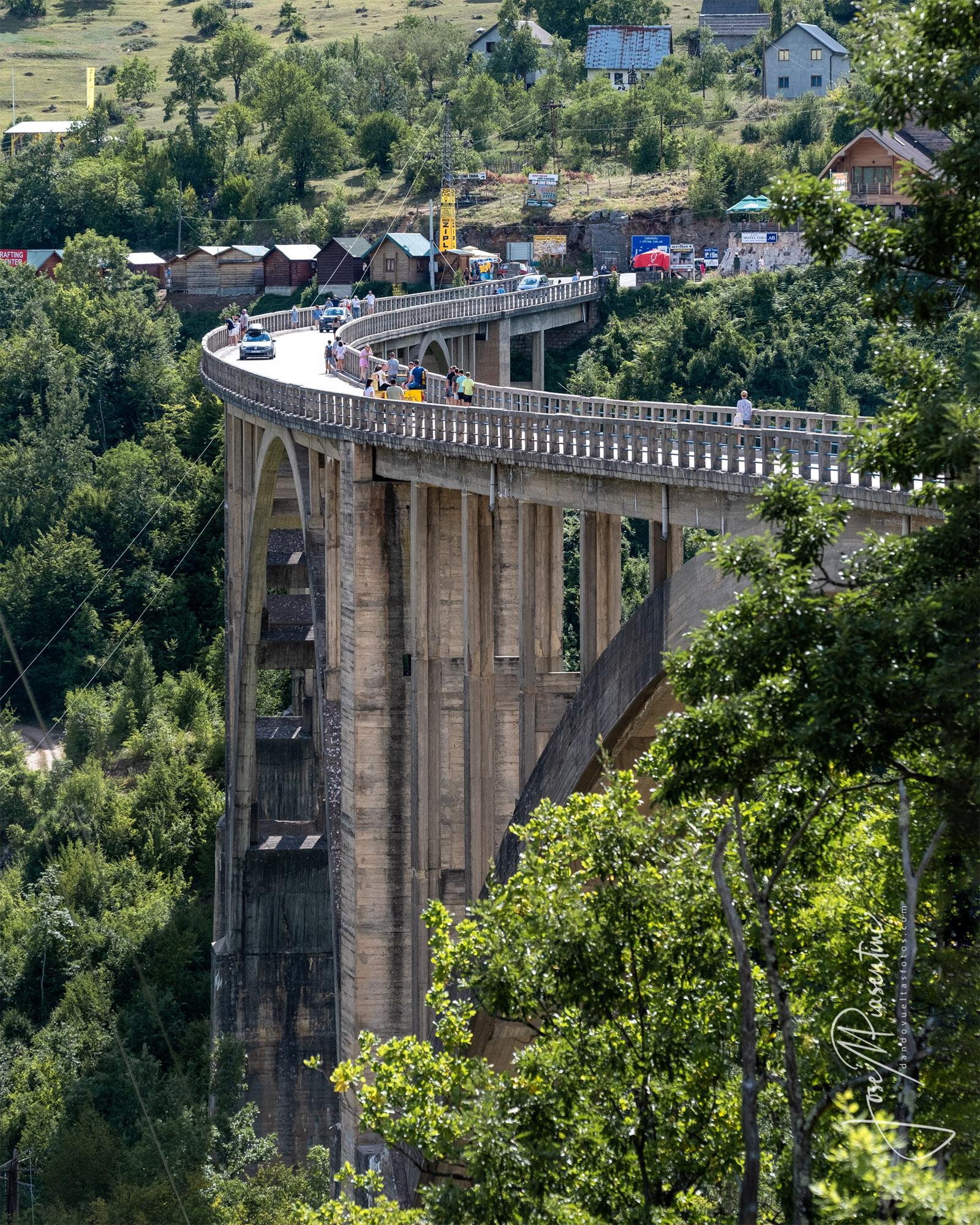Tara River bridge