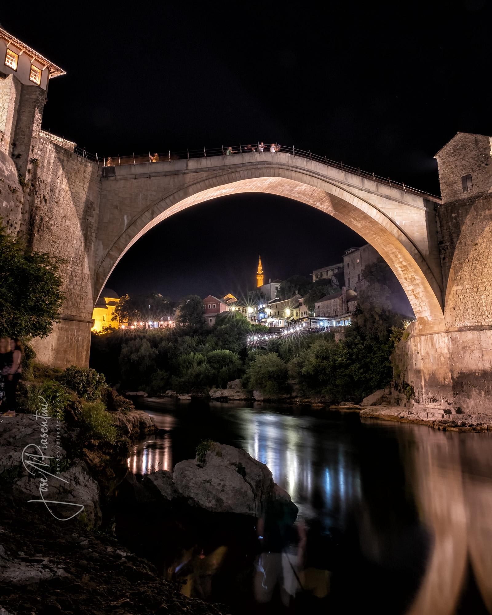 Mostar bridge reconstrution
