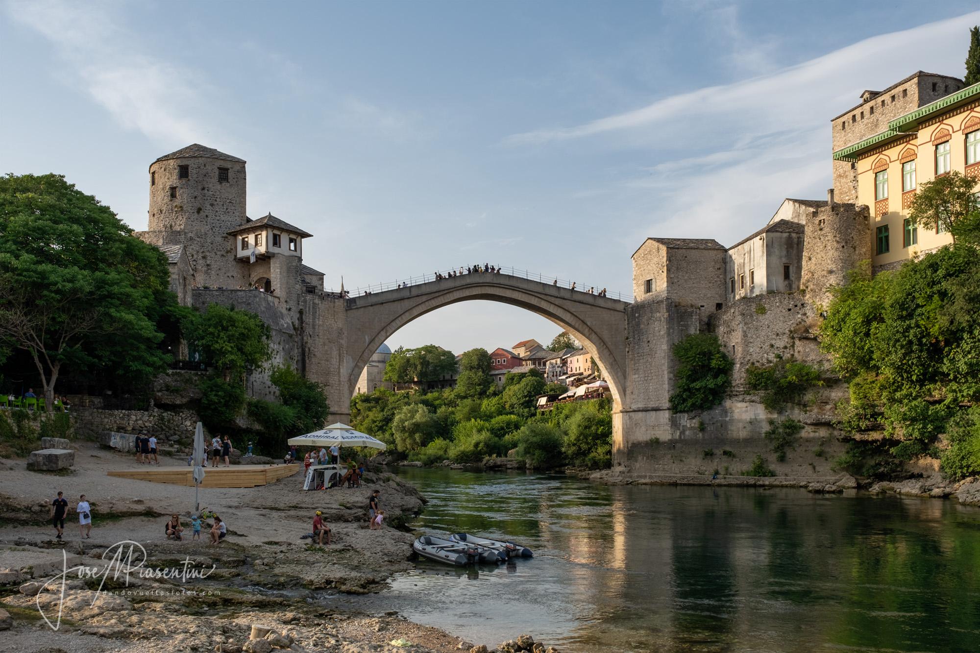Ciudad de Mostar puente