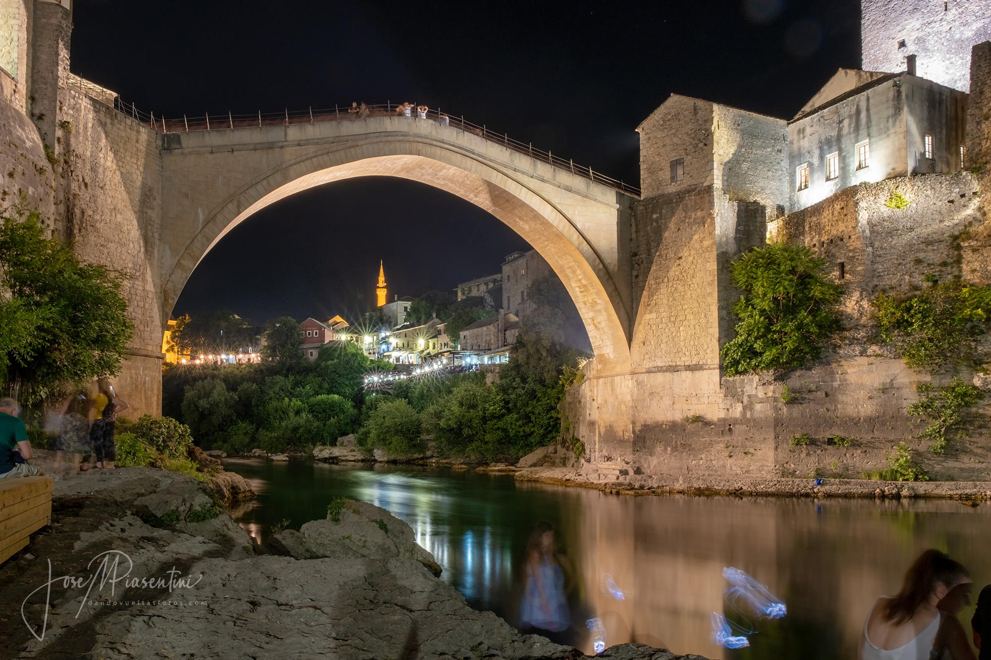 El puente de Mostar en Bosnia
