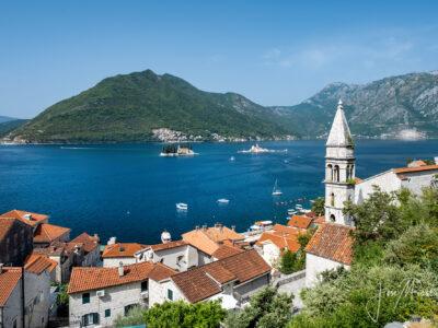 La bahía de Kotor en Montenegro