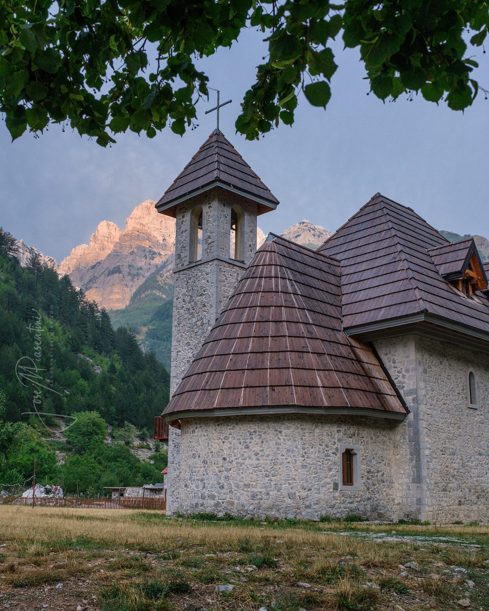 Theth National Park church