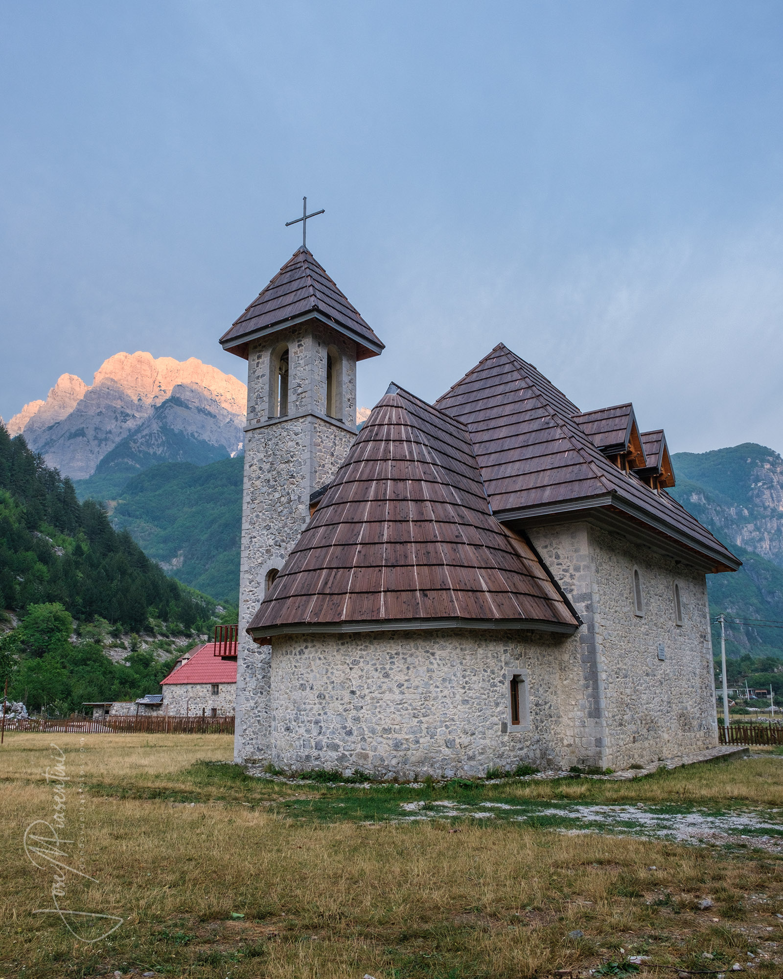theth albania church
