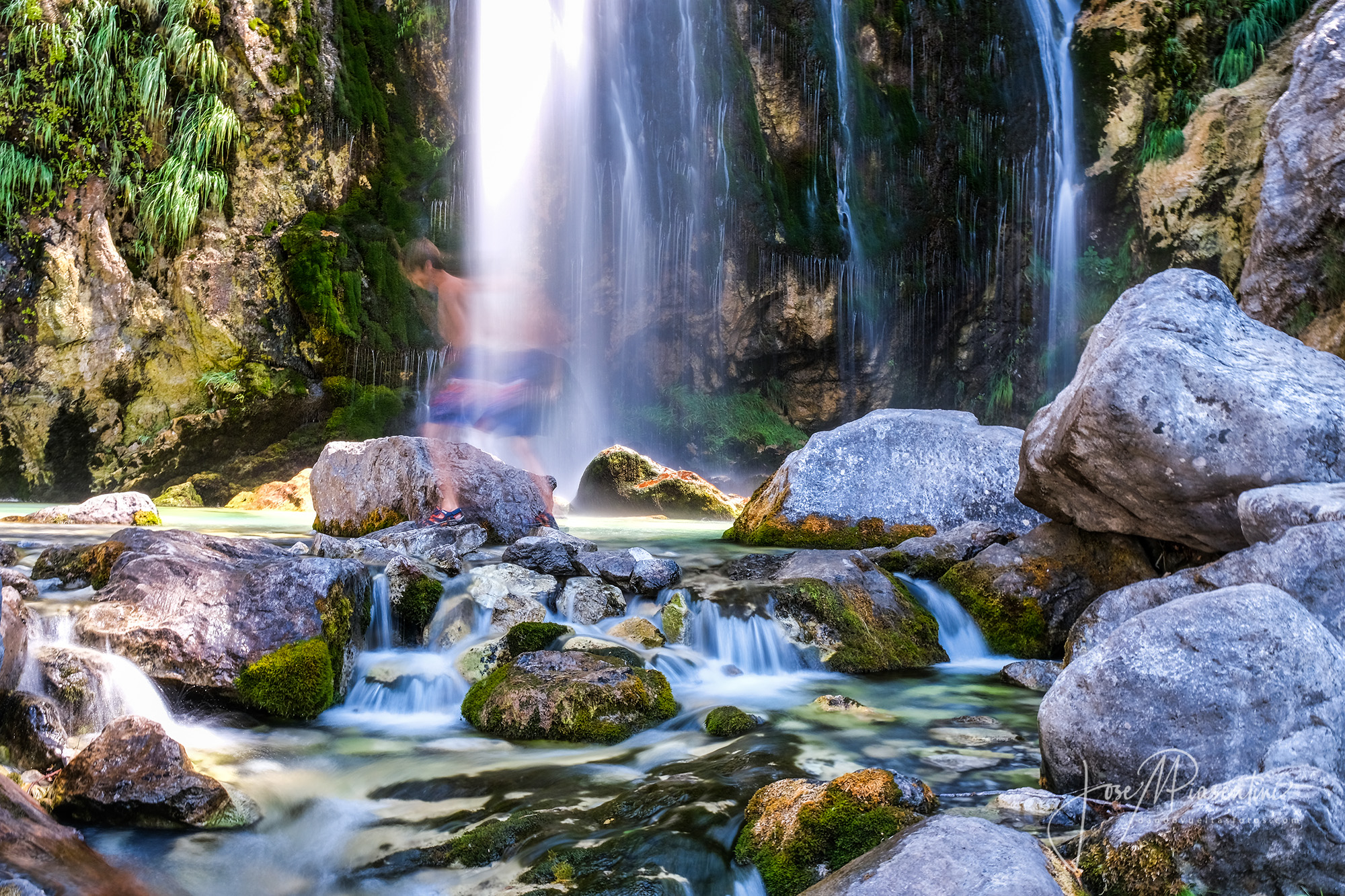 waterfall grunas theth albania