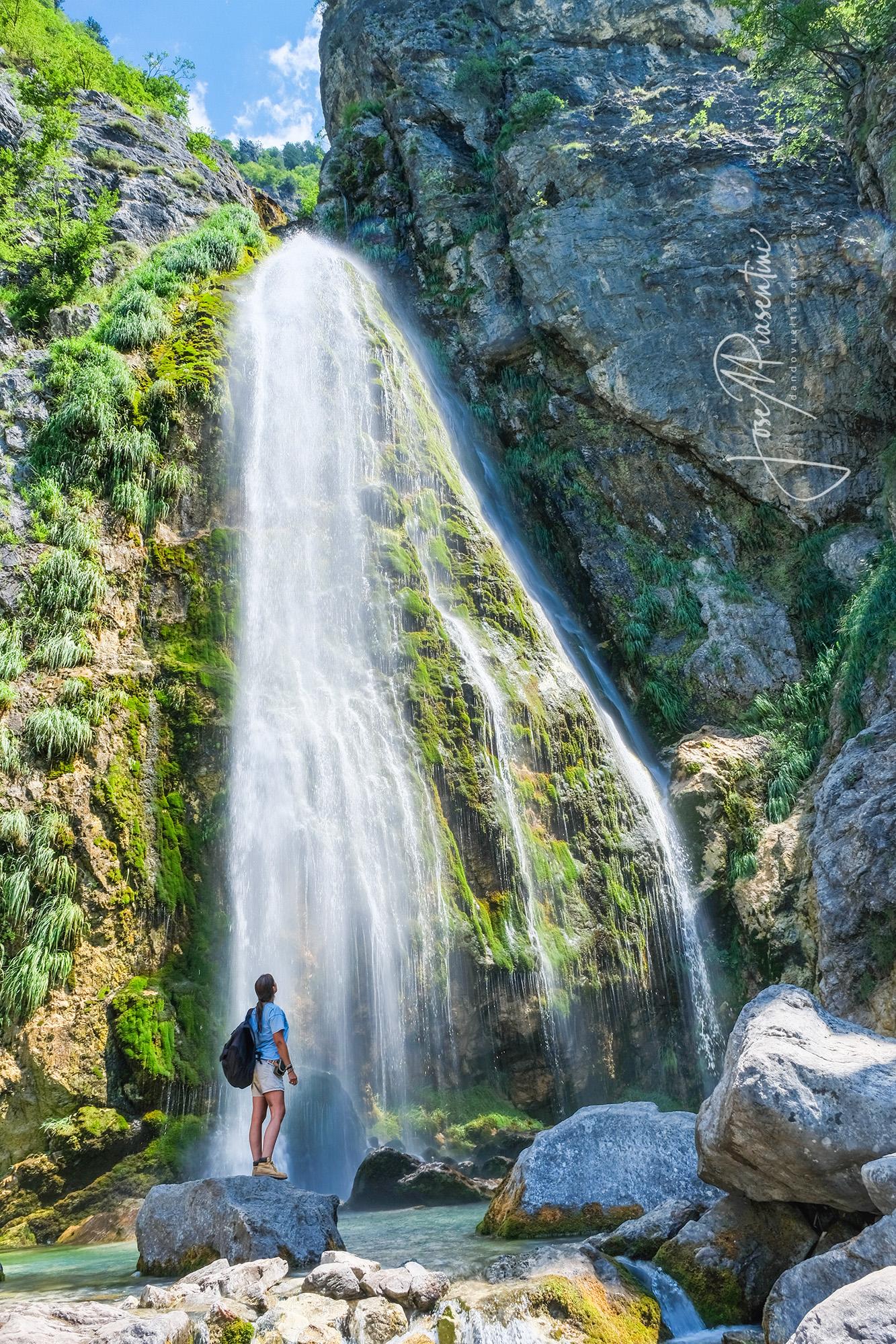 Cascada-kanyon-de-Grunas
