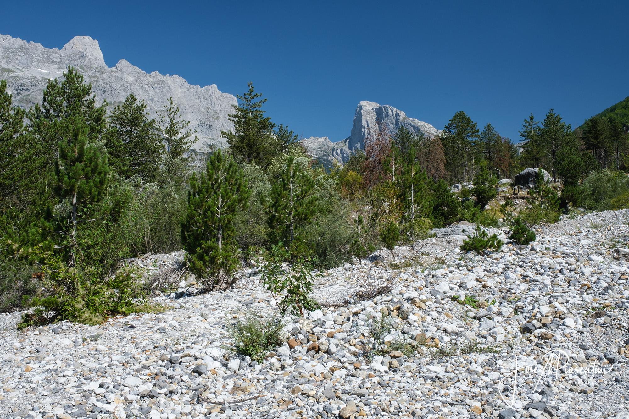 Theth Albanian national park